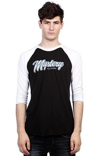 Лонгслив Mystery All Stars Raglan Black/White
