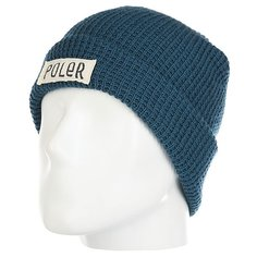 Шапка Poler Workerman Beanie Blue