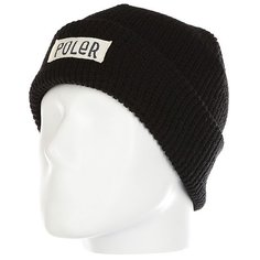 Шапка Poler Workerman Beanie Black