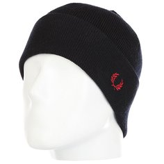 Шапка Fred Perry Merino Wool Beanie Black