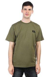 Футболка Carhartt WIP Military Training T-shirt Rover Green / Black