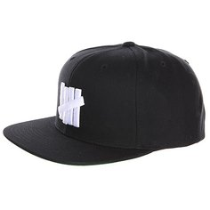 Бейсболка Undefeated 5 Strike Cap Black