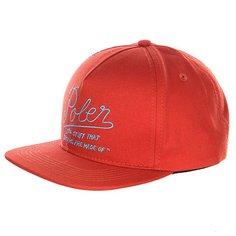 Бейсболка Poler Dreams Snap Back Burnt Orange