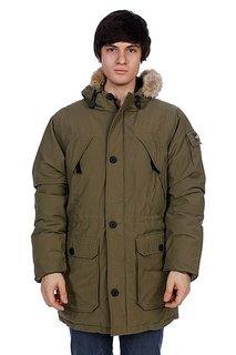 Куртка парка Penfield Hoosac Parka (real Fur) Olive Drab