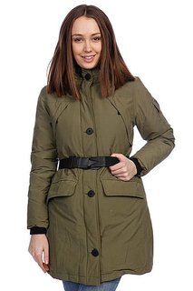 Куртка парка женская Penfield Hoosac W Parka (Faux Fur) Olive Drab
