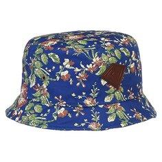 Панама Запорожец Цветочки Royal-blue