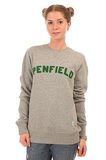 Толстовка свитшот женская Penfield Brookport Crew Sweat Grey