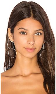 Double hoop ear jacket - joolz by Martha Calvo