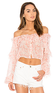 Ruffle popover top - LoveShackFancy
