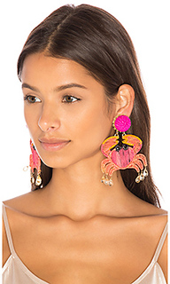 Cangrejo crab earrings - Mercedes Salazar