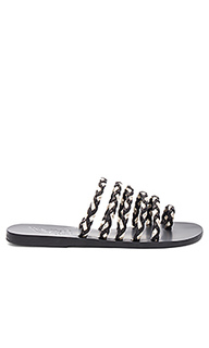 Niki braids slide - Ancient Greek Sandals