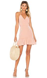 Платье со сборками avery - Donna Mizani