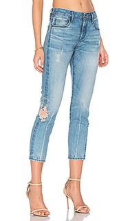 Прямые облегающие джинсы savanna - TORTOISE