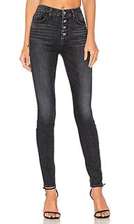 Облегающие джинсы с высоким поясом - 7 For All Mankind