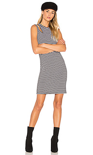 Stripe slice tank dress - LNA