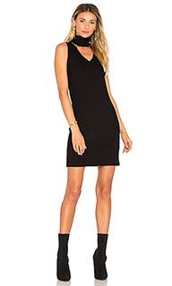 Dethatched turtleneck dress - LNA