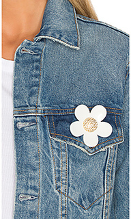 Large strass daisy pin - Marc Jacobs