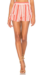 Striped ruffle short - Band of Gypsies