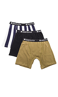 3-pack boxer shorts - Undefeated