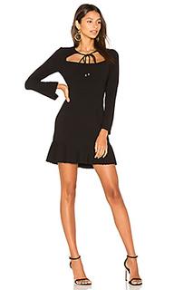 Beltran pleat hem mini dress - Rebecca Vallance