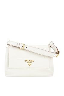 Кожаная сумка Vit.Daino Prada