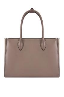 Кожаная сумка Soft Bibliotheque Prada