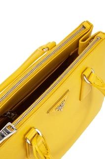 Кожаная сумка Galleria Prada