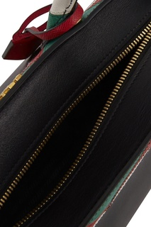 Кожаная сумка Zig Zag Esplanade Prada