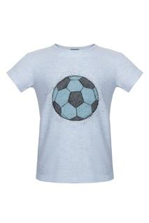Хлопковая футболка Lisa&Leo