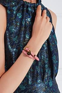 Кожаный браслет Prada