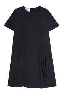 Однотонное платье Prada