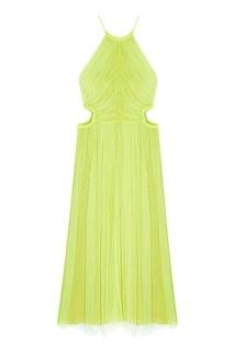 Однотонное платье Jason Wu