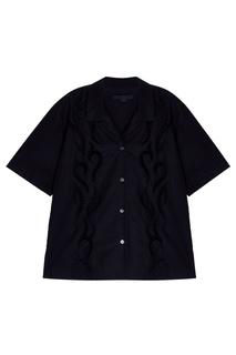 Хлопковая блузка Alexander Wang