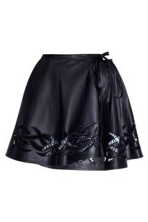 Однотонная юбка Alexander Wang