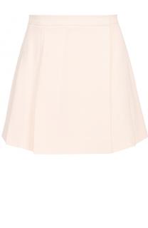 Мини-юбка из смести шерсти и шелка Valentino