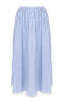 Многоярусная юбка-миди REDVALENTINO