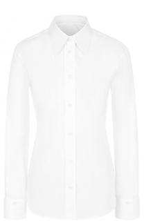 Хлопковая блуза прямого кроя Mm6