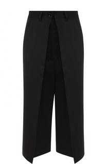 Укороченные брюки с защипами Mm6