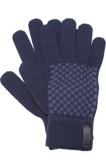 Шерстяные перчатки Armani Collezioni