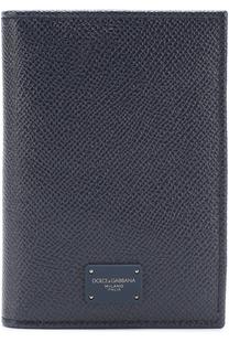 Кожаная обложка для паспорта Dolce & Gabbana