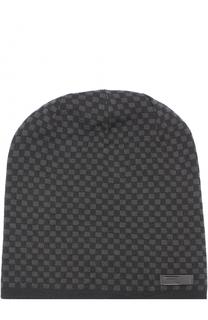 Шерстяная шапка бини Armani Collezioni