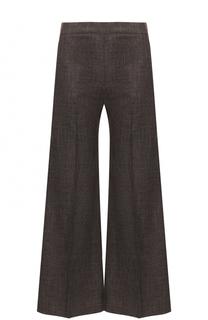 Укороченные широкие брюки со стрелками Acne Studios