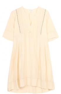 Мини-платье с защипами и завышенной талией Isabel Marant Etoile