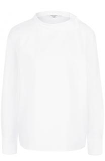 Хлопковая блуза прямого кроя Atlantique Ascoli