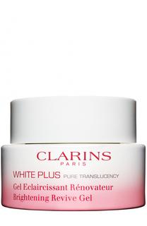 Обновляющий ночной гель, осветляющий тон кожи White Plus Clarins