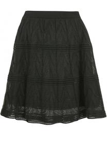 Мини-юбка фактурной вязки M Missoni