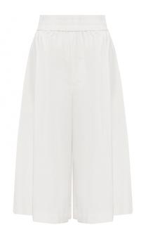 Укороченные широкие брюки с эластичным поясом Acne Studios