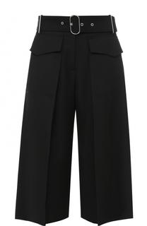 Укороченные широкие брюки с поясом Acne Studios