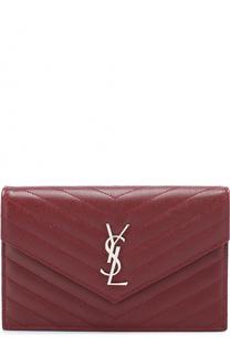 Сумка Monogram Envelope mini из стеганой кожи Saint Laurent