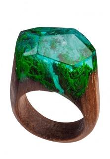 Кольцо Green Wood